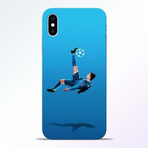 Football Kick iPhone XS Mobile Cover