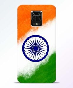 Indian Flag Redmi Note 9 Pro Max Mobile Cover