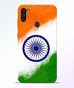 Indian Flag Samsung M11 Mobile Cover - CoversGap