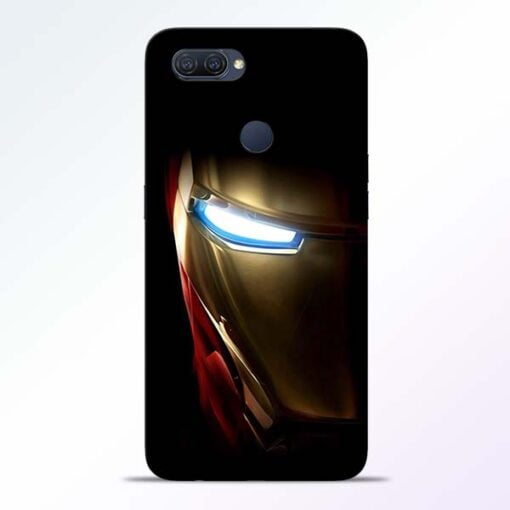 Iron Man Oppo A12 Mobile Cover - CoversGap