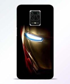 Iron Man Redmi Note 9 Pro Max Mobile Cover