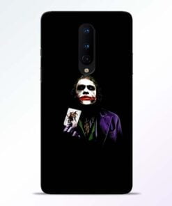 Joker Card OnePlus 8 Mobile Cover