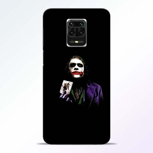 Joker Card Redmi Note 9 Pro Max Mobile Cover
