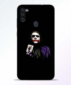 Joker Card Samsung M11 Mobile Cover - CoversGap