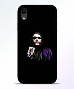 Joker Card iPhone XR Mobile Cover
