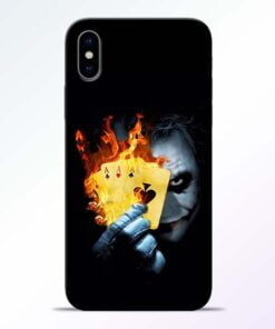 Joker Shows iPhone X Mobile Cover