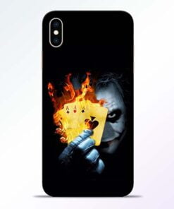 Joker Shows iPhone XS Max Mobile Cover