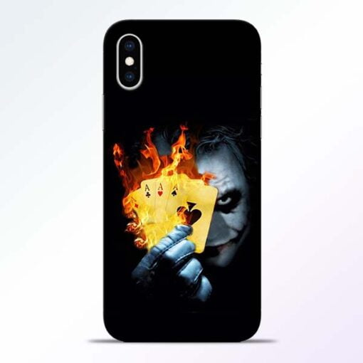 Joker Shows iPhone XS Mobile Cover
