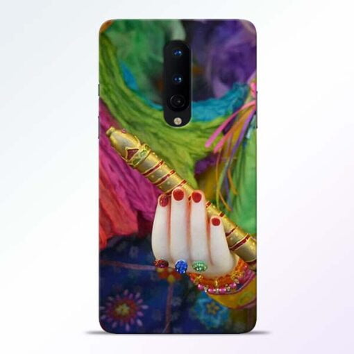 Krishna Hand OnePlus 8 Mobile Cover