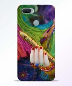 Krishna Hand Oppo A11K Mobile Cover - CoversGap