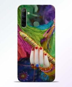 Krishna Hand Realme 6i Mobile Cover - CoversGap