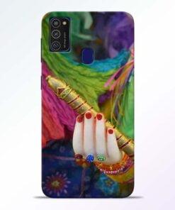 Krishna Hand Samsung M21 Mobile Cover