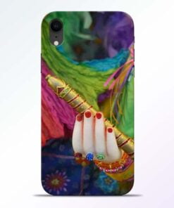 Krishna Hand iPhone XR Mobile Cover