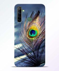 Krishna More Pankh Realme 6i Mobile Cover - CoversGap