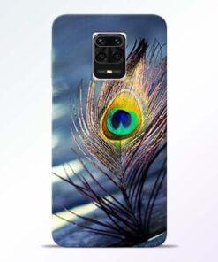 Krishna More Pankh Redmi Note 9 Pro Max Mobile Cover