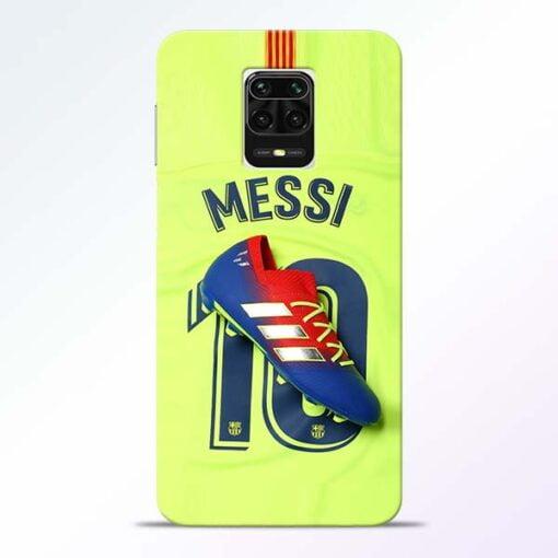 Leo Messi Redmi Note 9 Pro Max Mobile Cover