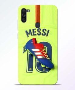 Leo Messi Samsung M11 Mobile Cover - CoversGap
