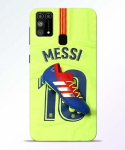 Leo Messi Samsung M31 Mobile Cover
