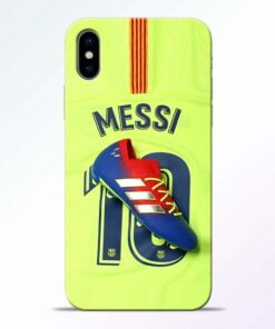 Leo Messi iPhone X Mobile Cover