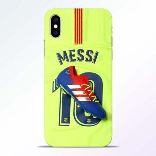 Leo Messi iPhone XS Mobile Cover