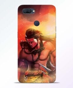 Lord Mahadev Oppo A12 Mobile Cover - CoversGap