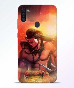 Lord Mahadev Samsung M11 Mobile Cover - CoversGap