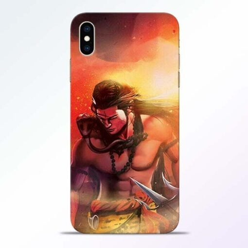 Lord Mahadev iPhone XS Max Mobile Cover