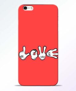 Love Symbol iPhone 6 Mobile Cover