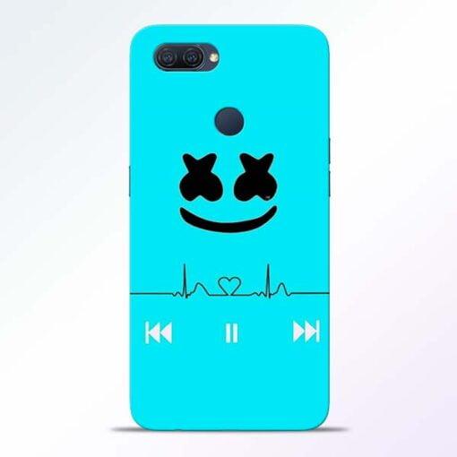 Marshmello Song Oppo A12 Mobile Cover - CoversGap