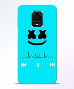 Marshmello Song Redmi Note 9 Pro Max Mobile Cover