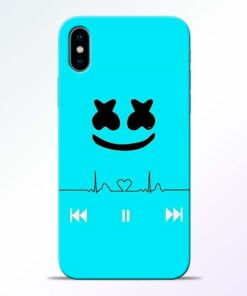 Marshmello Song iPhone X Mobile Cover