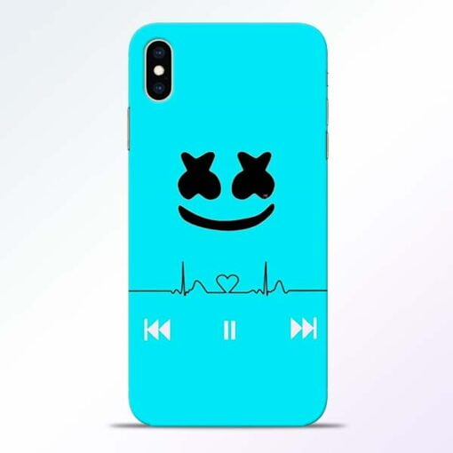 Marshmello Song iPhone XS Max Mobile Cover