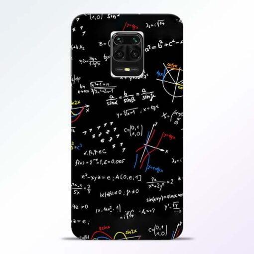 Math Lover Redmi Note 9 Pro Max Mobile Cover