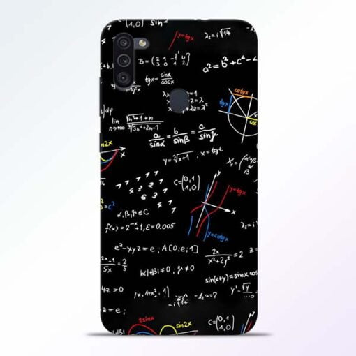 Math Lover Samsung M11 Mobile Cover - CoversGap