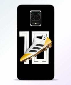 Messi 10 Redmi Note 9 Pro Max Mobile Cover