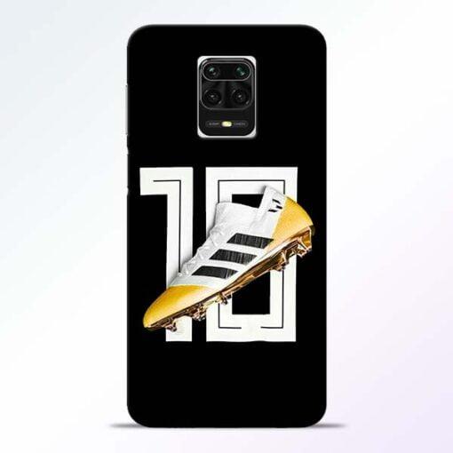 Messi 10 Redmi Note 9 Pro Max Mobile Cover