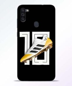 Messi 10 Samsung M11 Mobile Cover - CoversGap
