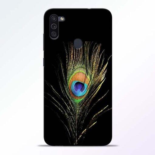 Mor Pankh Samsung M11 Mobile Cover - CoversGap