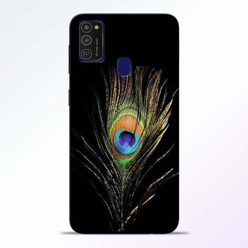 Mor Pankh Samsung M21 Mobile Cover