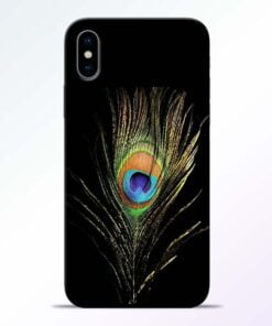 Mor Pankh iPhone X Mobile Cover