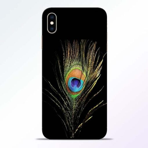 Mor Pankh iPhone XS Max Mobile Cover