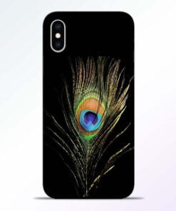 Mor Pankh iPhone XS Mobile Cover
