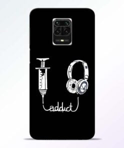 Music Addict Redmi Note 9 Pro Max Mobile Cover
