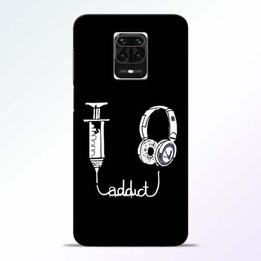 Music Addict Redmi Note 9 Pro Max Mobile Cover