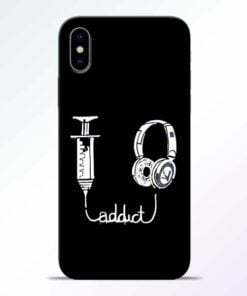 Music Addict iPhone X Mobile Cover