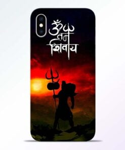 Om Mahadev iPhone XS Mobile Cover