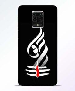 Om Tilak Redmi Note 9 Pro Max Mobile Cover