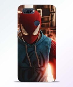 SpiderMan Eye Oppo A12 Mobile Cover - CoversGap