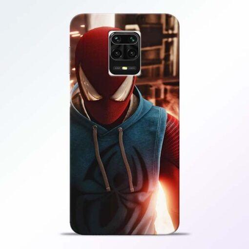 SpiderMan Eye Redmi Note 9 Pro Max Mobile Cover