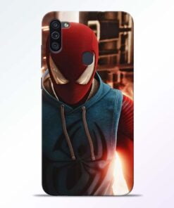 SpiderMan Eye Samsung M11 Mobile Cover - CoversGap